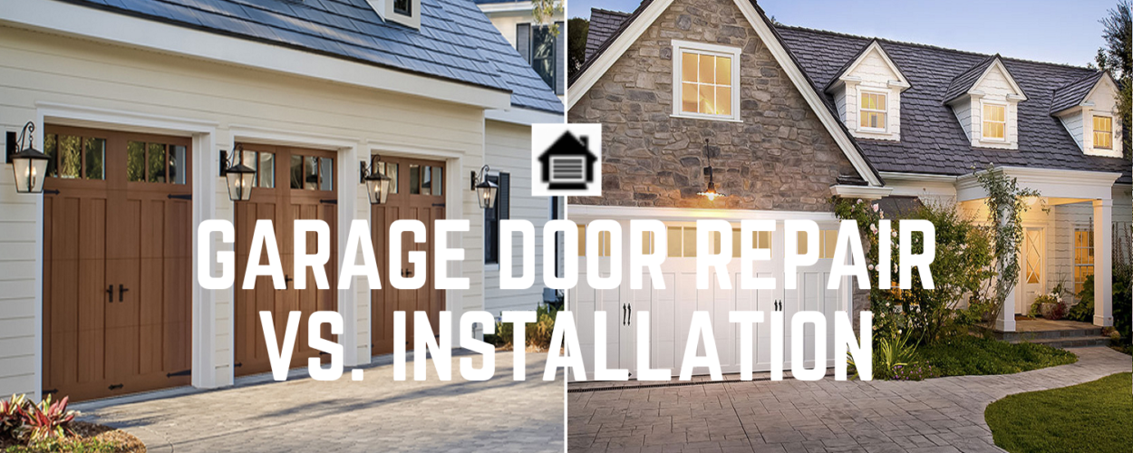 GDRG Garage Door Repair vs. Installation